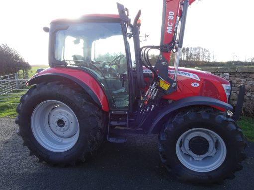 McCormick X5.50 Tractor with MC80 Loader