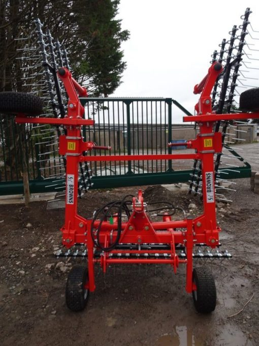 Browns 6 Metre Grass Harrows