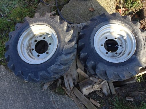 Weidemann Wheels and Tyres