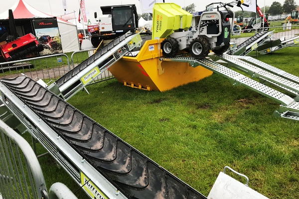 Truxta Mini Dumpers and Attachments