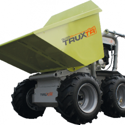 Truxta Quadro Powered Wheelbarrow